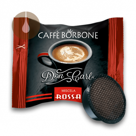 capsule caffè Borbone Don Carlo ROSSO compatibile Lavazza A Modo Mio