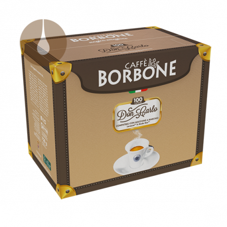 capsule caffè Borbone Don Carlo BLU compatibile Lavazza A Modo Mio