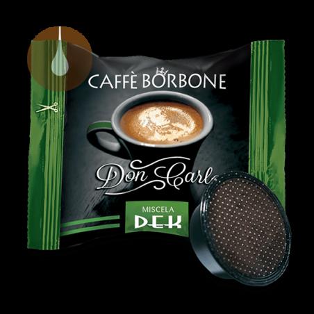 capsule caffè Borbone Don Carlo VERDE dek compatibile Lavazza A Modo Mio