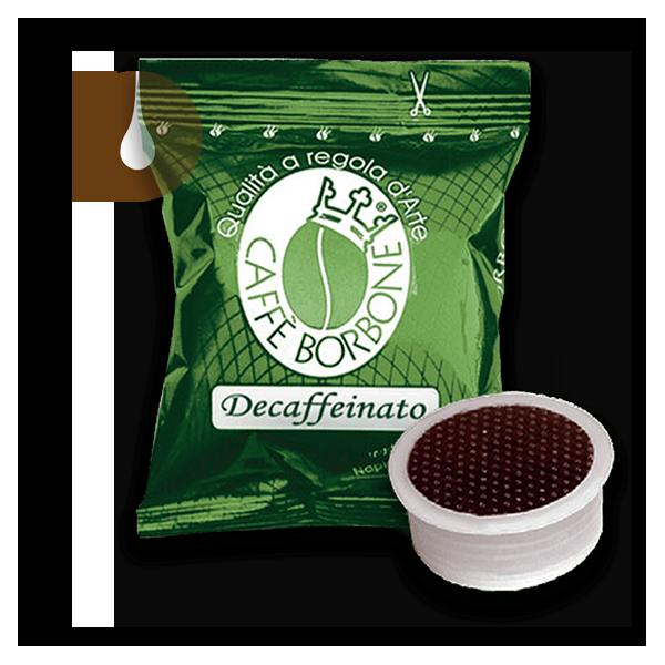 capsule caffè Borbone VERDE dek compatibili Lavazza Espresso Point