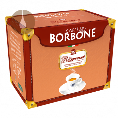 capsule caffè Borbone Respresso Miscela ORO compatibile Nespresso