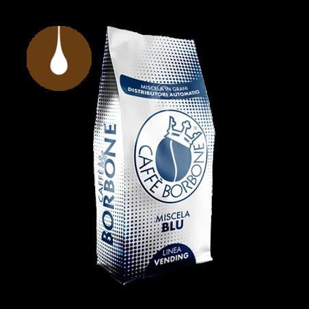 caffè in grani Borbone Vending Miscela BLU da 1 kg