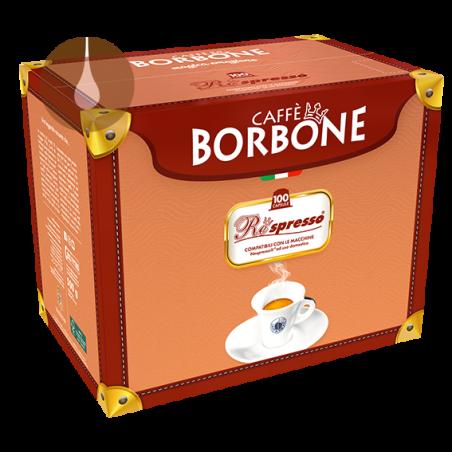 capsule caffè Borbone Respresso VERDE dek compatibili Nespresso