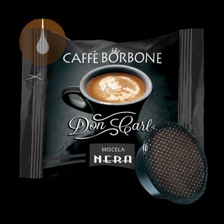 capsule caffè Borbone Don Carlo NERO compatibile Lavazza A Modo Mio