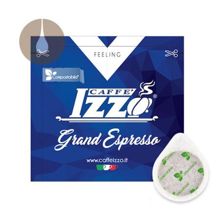 cialde di carta ESE compostabili Caffè Izzo Grand Espresso