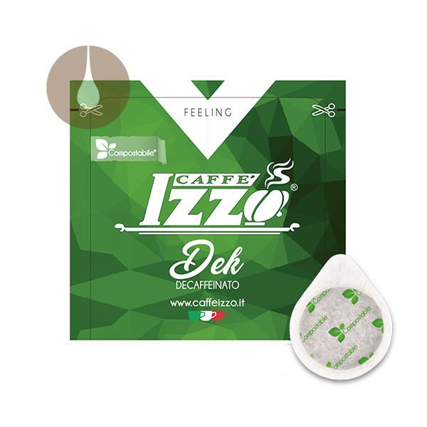 cialde di carta ESE compostabili Caffè Izzo Dek