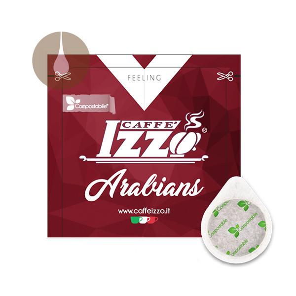 cialde di carta ESE compostabili Caffè Izzo Arabians