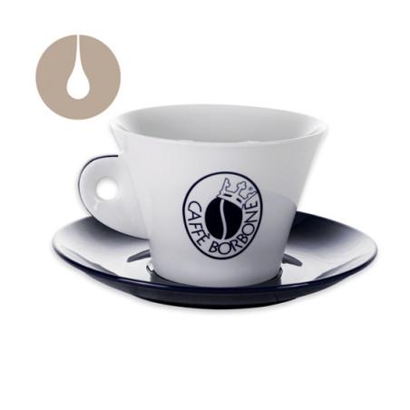 tazzone con piatto Caffè Borbone porta zucchero / porta cialde / porta capsule