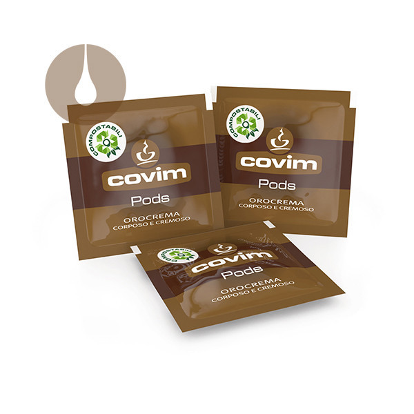 cialde caffè Covim Pods Orocrema compostabili