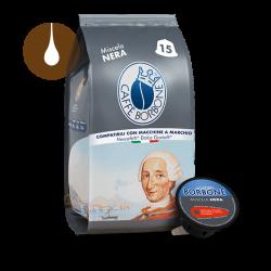 capsule caffè Borbone Miscela NERA compatibili Nescafè Dolce Gusto