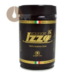 macinato caffè Izzo miscela Gold in barattolo da 250 g