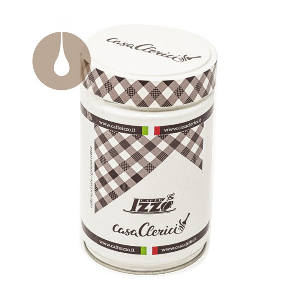 macinato caffè Izzo miscela Casa Clerici in barattolo da 250 g