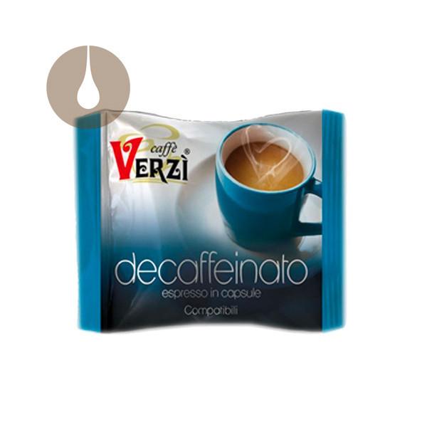 capsule caffè Verzì Decaffeinato compatibili Nescafè Dolce Gusto