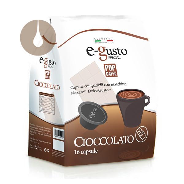 capsule Pop Caffè E-gusto Special Cioccolato compatibili Nescafè Dolce Gusto