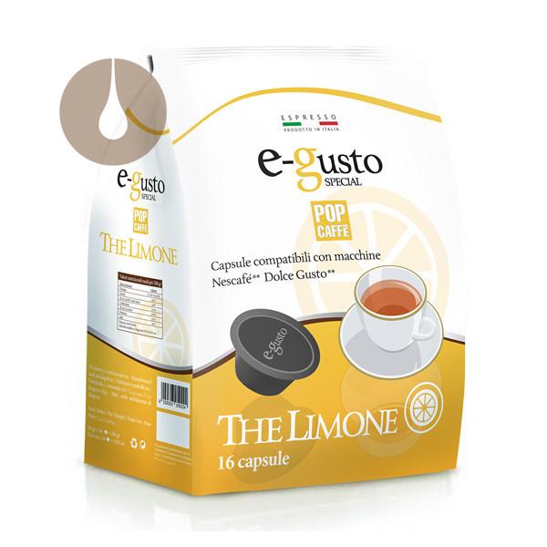 capsule Pop Caffè E-gusto Special The Limone compatibili Nescafè Dolce Gusto
