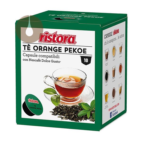 capsule Tè Orange Pekoe Ristora compatibili Nescafè Dolce Gusto