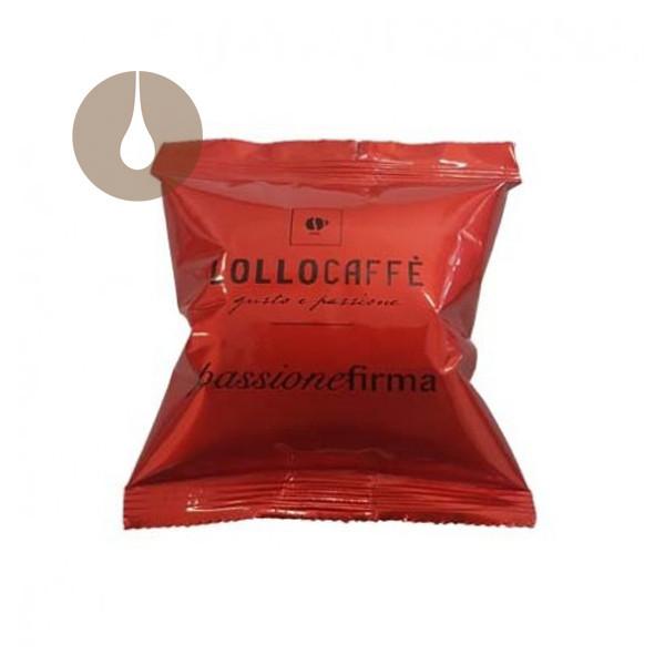 capsule caffè Lollo Nero Espresso compatibili Lavazza Firma