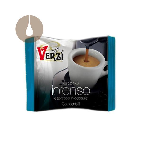 capsule caffè Verzì Aroma Intenso compatibili Lavazza Firma