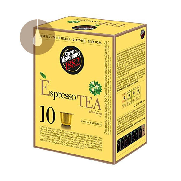 capsule tè Vergnano The Earl Grey compatibili Nespresso