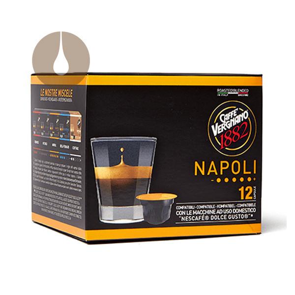 caffè Vergnano miscela Napoli compatibile Nescafè Dolce Gusto