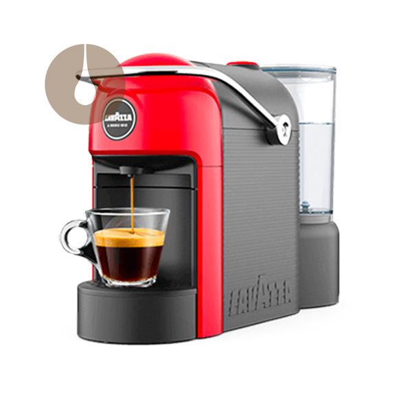 macchina da caffè a capsule JOLIE colore RED