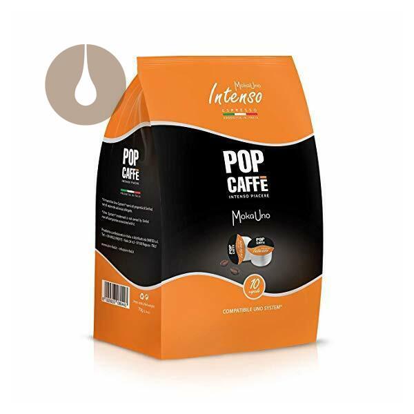 capsule Pop Caffè MokaUno Intenso compatibili Uno System