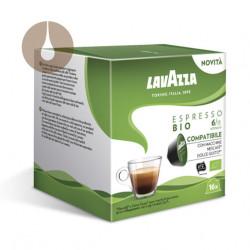 capsule caffè Lavazza miscela Espresso Bio compatibili Nescafè Dolce Gusto