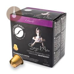 capsule compatibili Nespresso caffè Toscano miscela Leonardo