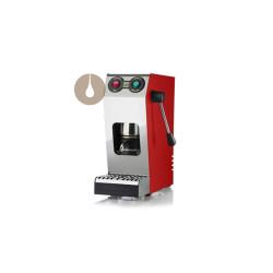 macchina da caffè a cialde COMPACT colore RED
