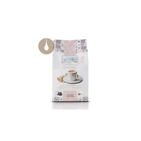capsule Gattopardo Buon Caffè al Ginseng compatibili Nescafè Dolce Gusto