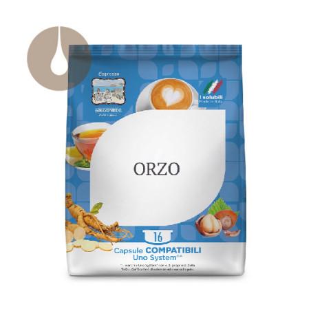 capsule caffè Gattopardo Orzo compatibili Uno System
