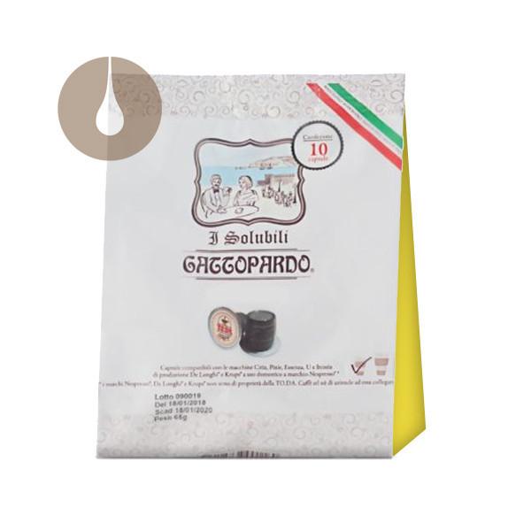 """capsule """"I Solubili"""" Gattopardo Tè al Limone compatibili Nespresso"""