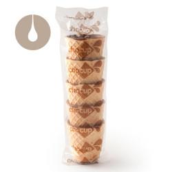 Chocup Mini di Foodrinks - 5 tazzine di wafer da 30 ml
