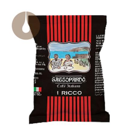 capsule caffè L'Espresso Gattopardo Ricco compatibili Uno System