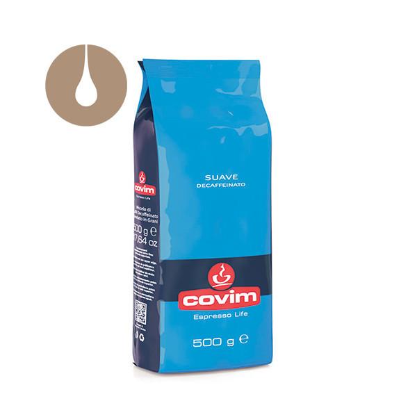 caffè in grani Covim Suave Decaffeinato da 500 g