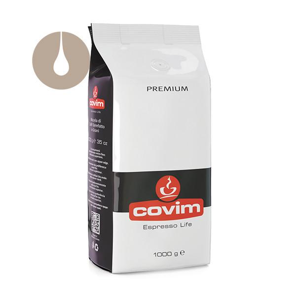 caffè in grani Covim Premium da 1 kg
