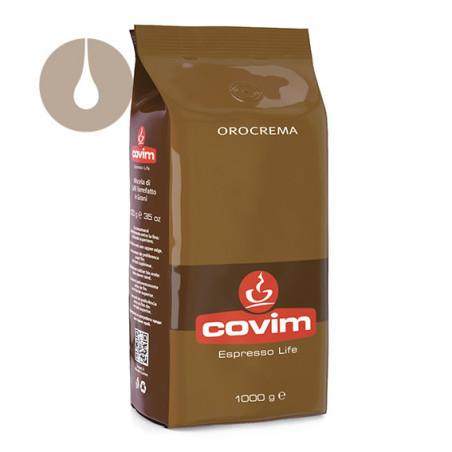 caffè in grani Covim Orocrema da 1 kg