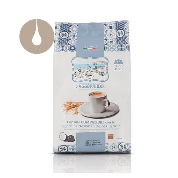 capsule solubile Gattopardo Buon Orzo compatibili Nescafè Dolce Gusto