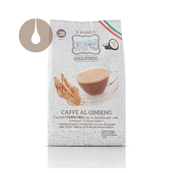 capsule Gattopardo Caffè al Ginseng compatibili Lavazza A Modo Mio