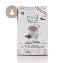 """capsule """"I Solubili"""" Gattopardo Cioccolata compatibili Lavazza A Modo Mio"""