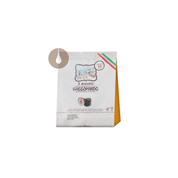 """capsule """"I Solubili"""" Gattopardo Cappuccino compatibili Nespresso"""