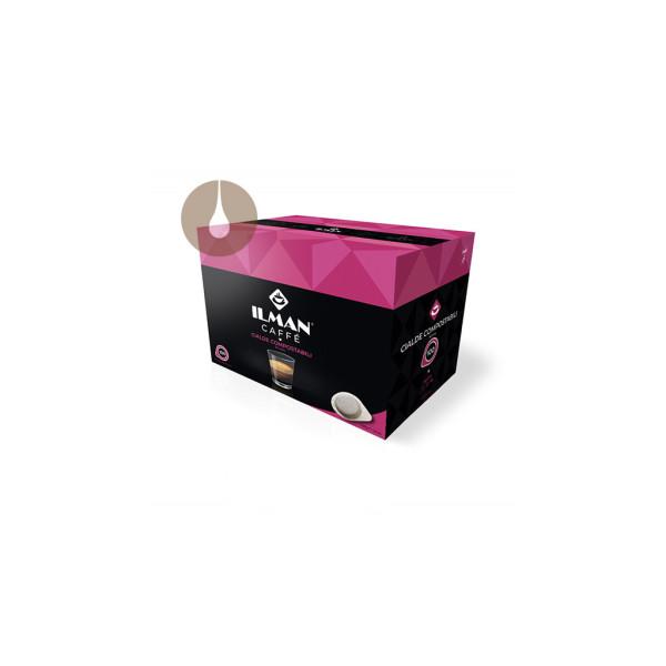 cialde di carta filtro caffè Ilman compostabili